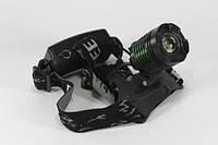 Налобный фонарик ультрафиолетовый Bailong BL-2189
