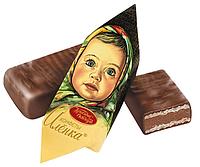 """Конфеты шоколадные """"Алёнка"""" фабрика  Красный октябрь"""