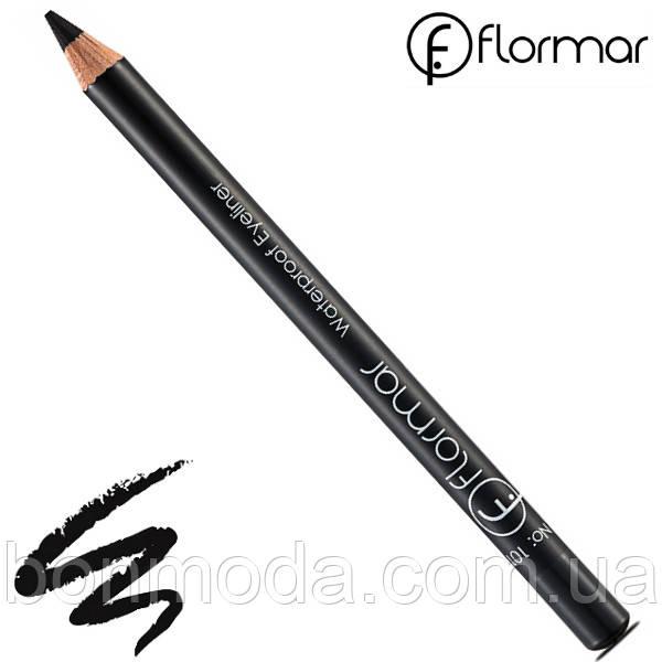 Flormar Водостойкий карандаш для глаз Waterproof Eyeliner № 101
