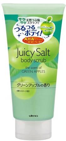 Скраб для тела на основе соли с ароматом зеленых яблок UTENA JUICY SALT