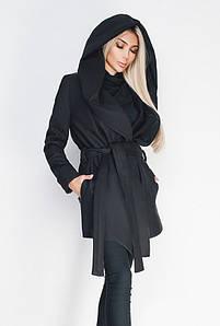 Черное пальто батал -ЛАГЕРТА-