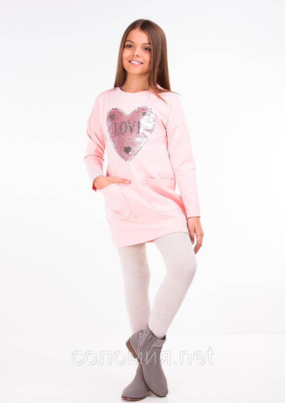 Прелестное Повседневное платье для девочки 122-140р