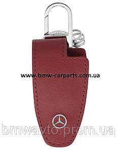 Кожаный футляр для ключей Mercedes-Benz Key Wallet Gen.5, Red