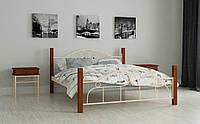 Кровать Принцесса 90х200 см Односпальная кровать металлическая Мадера, Доставка 250грн по Украине