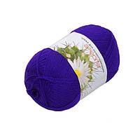 Пряжа Ареола акрил №12,фиолет