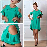 Платье, модель 785, цвет - изумрудный