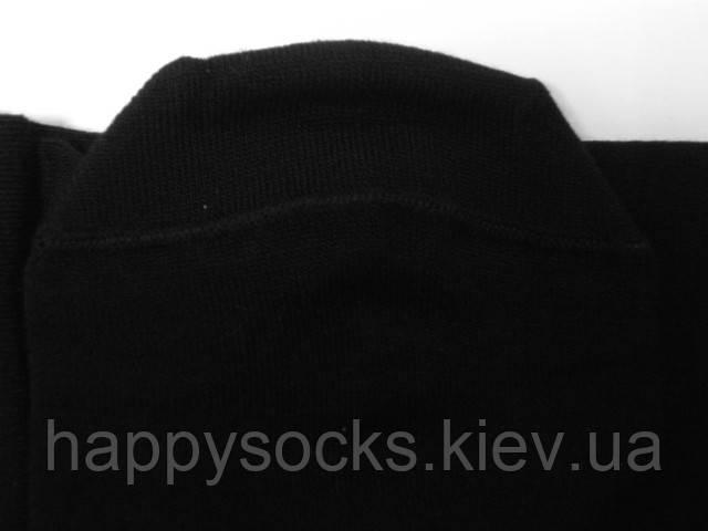 Бамбуковые носки заниженные черного цвета