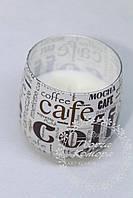 """Ароматизированная свеча """"Кофе"""", 6,5 см х 6,5 см"""
