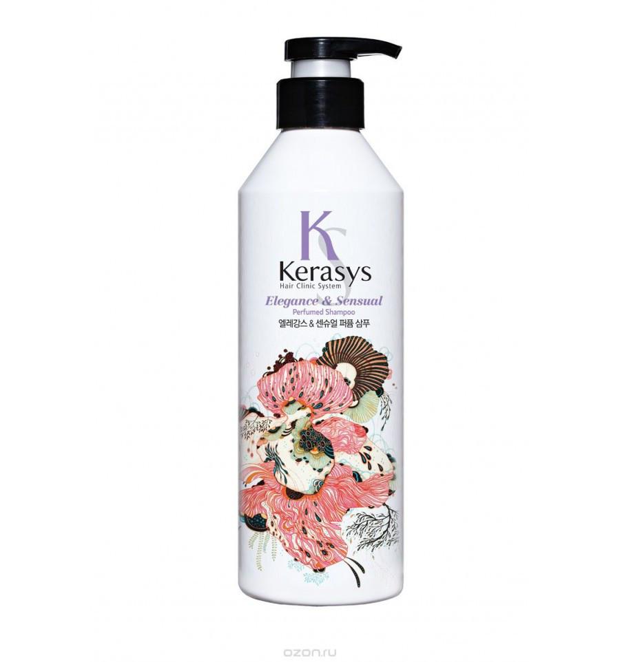 Шампунь для волос Kerasys Elegance & Sensual Parfumed Shampoo 600 мл (992715)