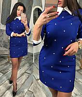Платье женское норма и ботал (цвета) АР0854