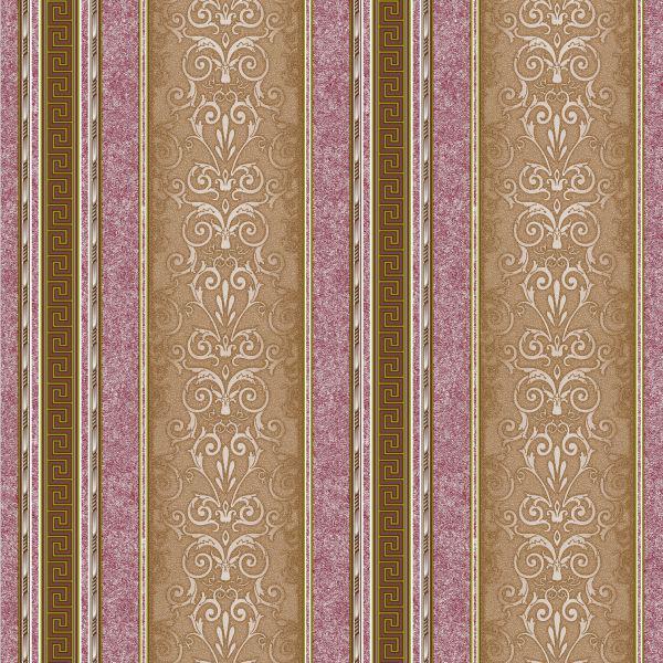 Обои бумажные Континент Версаче компаньон бордовый 1227