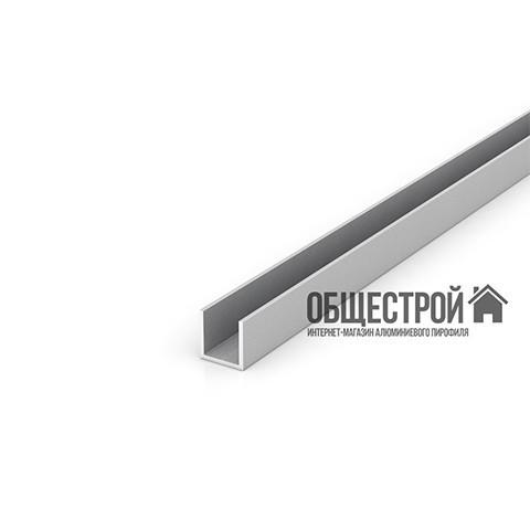 Швеллер алюминиевый 20х40х2 / анодированный