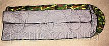 Спальный мешок камуфляжный. 210х70 см, фото 3