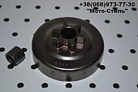 Корзина сцепления (звезда) 3/8-6 бензопилы Partner 350/351/371, фото 1