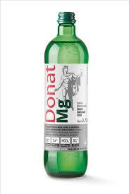 """Природная минеральная питьевая вода """"DONAT Mg"""" (стекло)"""