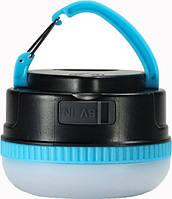 Фонарь - повербанк Remax YE Series RPL-17 3000MAH, черно-голубой, фото 1