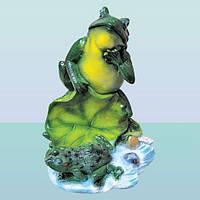 Декоративная садовая фигурка статуэтка для декора сада Жабы на пруду