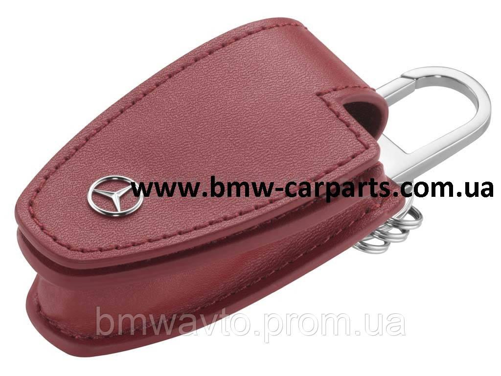 Кожаный футляр для ключей Mercedes-Benz Key Wallet