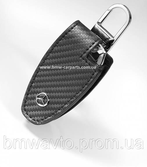 Кожаный футляр для ключей Mercedes-Benz Key Wallet Gen.5, Carbon, фото 2