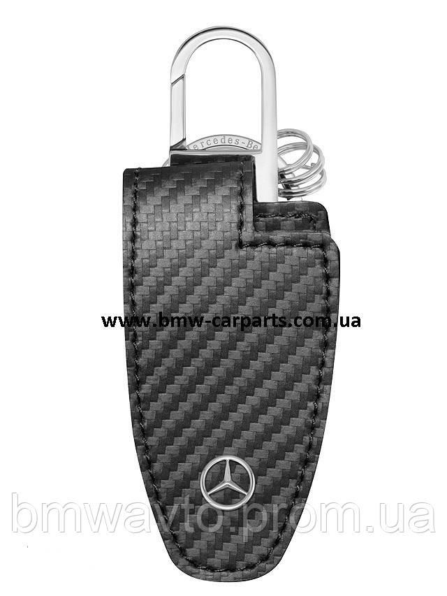 Кожаный футляр для ключей Mercedes-Benz Key Wallet Gen.5, Carbon