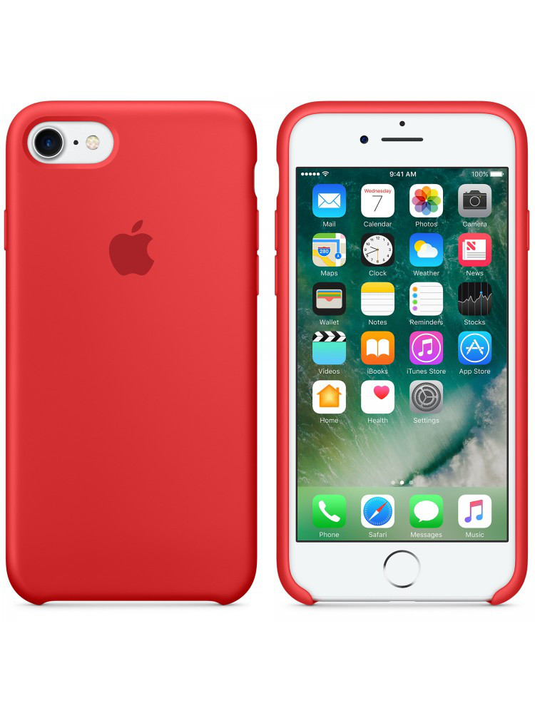 ЧЕХОЛ APPLE SILICONE CASE (HC) IPHONE 6/6S \ RED