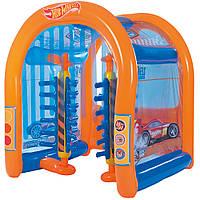 Детский надувной центр Bestway 93406 «Автомойка Hot Wheels», фото 1