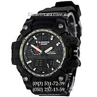 Электронные часы Casio G-Shock GWG 1000 Black, спортивные часы Джи Шок черные