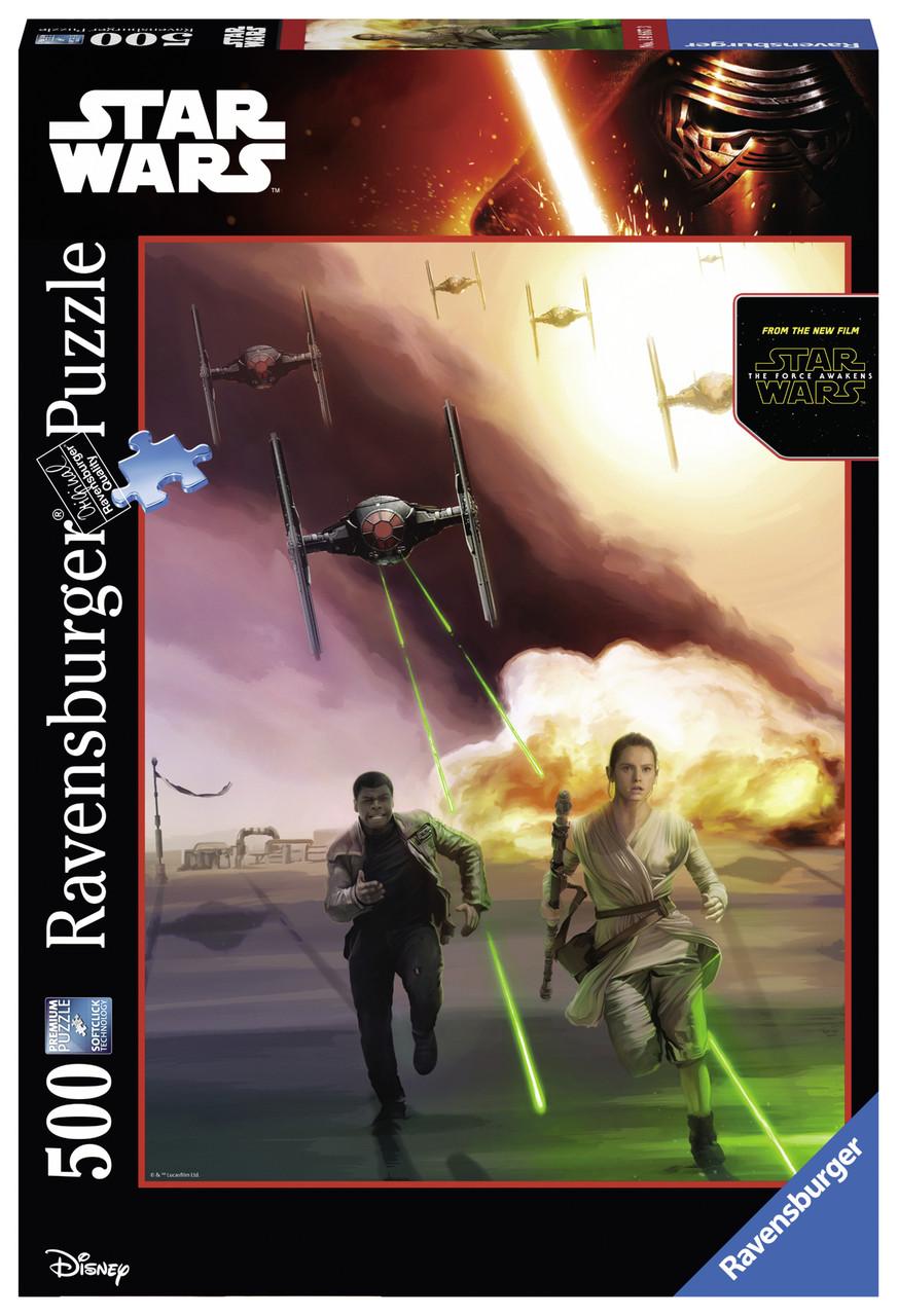 """Пазл """"Зоряні Війни. Темна сторона сили"""" 500 шт. Ravensburger (RSV-146673)"""