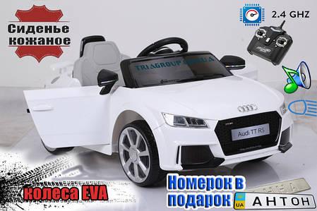Детский электромобиль AUDI TT RS, фото 2