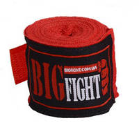 """Бинт """"BigFight"""" 2.50 мп красный"""
