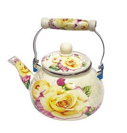 Чайник 2,5 литра  эмалированный