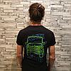 Anti Social Social Club футболка. Принт Gelandewagen. Бирка ASSC, фото 3