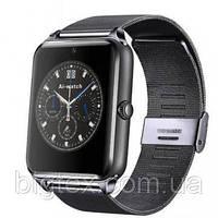 Умные часы телефон Smart Watch Z60 c SIM картой,железный ремешок