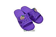 Шлепанцы детские оптом Даго 326 фиолет