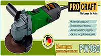 Болгарка ProCraft PW-980 !!! При оплате на карту -- для Вас ОПТОВАЯ ЦЕНА