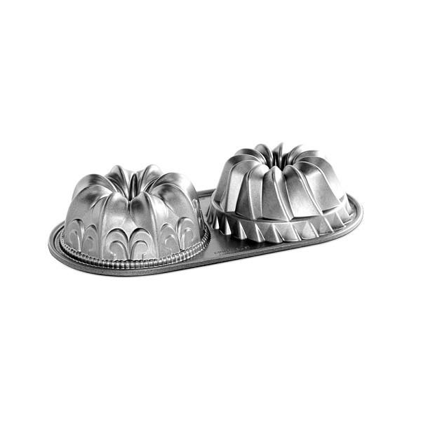 Форма для выпечки Nordic ware Duet 32х17х7 см для кексов (84024)