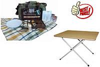 Раскладные столы, пикниковые наборы