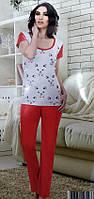 Женский набор футболка и брюки