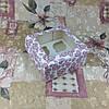 Коробка Печать Сердца для 4-ох кексов с окном  170*170*90