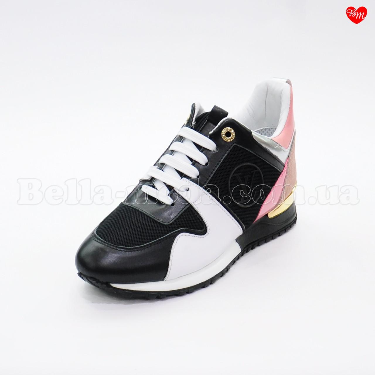 a9731d9ea8c8 Купить Женские кожаные кроссовки Louis Vuitton в розницу от интернет ...