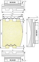 Комплект фрез для изготовления стенового бруса СБ-02
