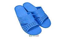 Женские шлепанцы оптом Даго 238 синие, фото 1
