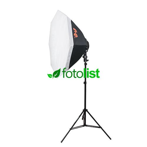 Набор постоянного флуоресцентного света Falcon LHD-B628FS(OB8)-1 KIT Ø80 см, 6х28w, 840 Вт, 5500К