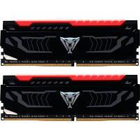Модуль памяти для компьютера DDR4 16GB (2x8GB) 2400 MHz LED SERIES RED Patriot (PVLR416G240C4K)