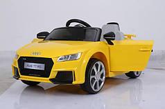 Детский электромобиль AUDI TT RS Желтый