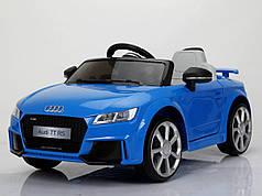 Детский электромобиль AUDI TT RS Синий
