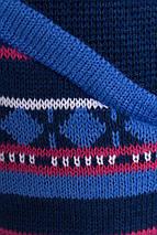 Женская вязаная модная парка кардиган джинс , фото 3
