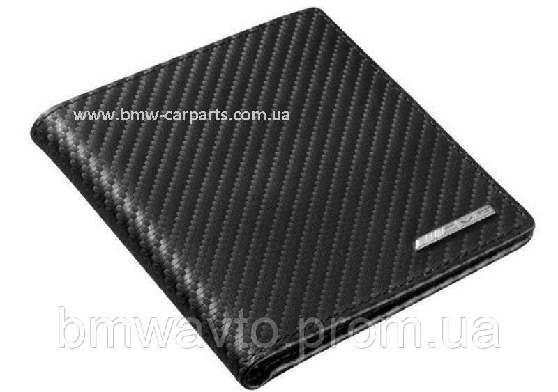 Кожаный футляр для кредитных карт Mercedes-Benz AMG, Carbon Leather