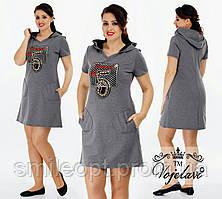 Платье женское с узором (P030)