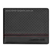 Кожаный кошелек Mercedes-Benz AMG Wallet